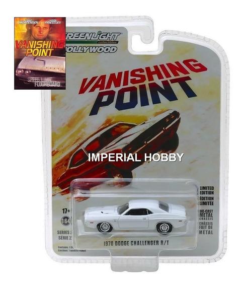 Dodge Challenger 1970 Vanishing Point - M Greenlight 1/64