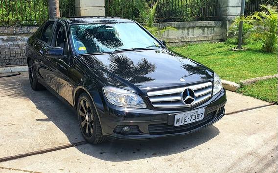 Mercedes Benz C 180 Kompressor 2011 Preta 70.000km Revisada