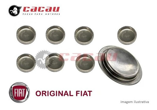 Kit Selos Do Bloco Do Motor Fiat Fire Todos Original