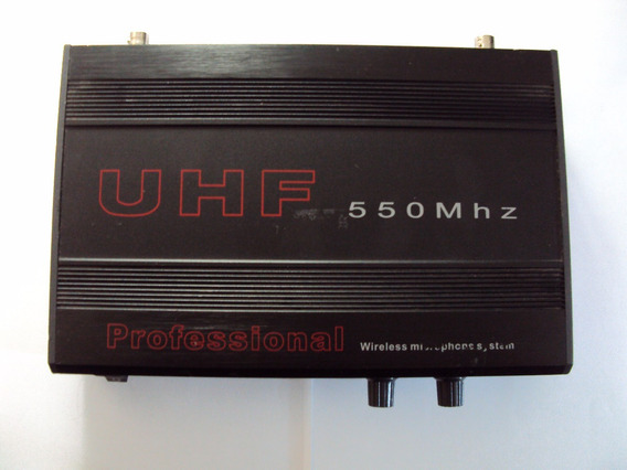 Receptor Wireless De Microfone Sem Fio Skp Pro Audio Uhf