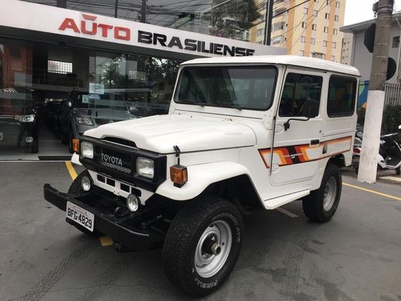 Toyota Bandeirante 3.7 Bj50lv 4x4 Teto Rigido Diesel 2p Manu