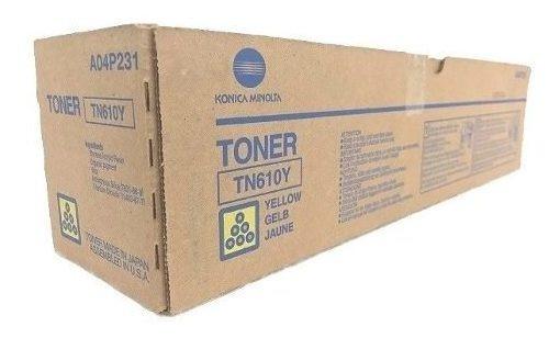 Toner Konica Minolta Bizhub Pro C5500 C6500 Tn-610y Amarelo