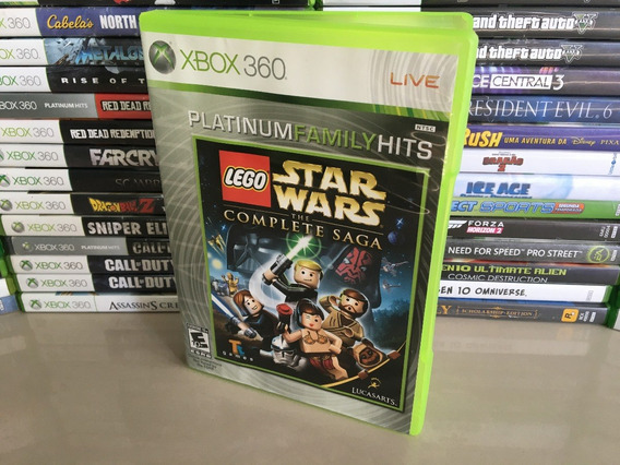 Lego Star Wars - The Complete Saga Xbox 360 Original Dvd