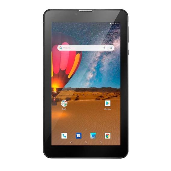 Tablet Multilaser M7 3g Plus + Wi-fi Dual Chip Preto Nb304