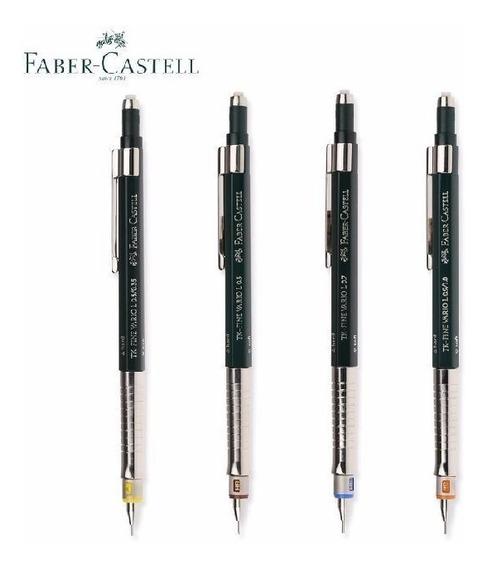 Kit 3 Lapiseira Faber Castell Tk Fine Vario L 0.3 0.5 0.9