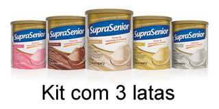 Suprasenior Pó Kit Com 3 Latas 400g - Promoção! = Ensure