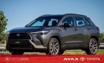 Toyota Corolla Cross Seg 2021 Gris Oscuro 0km