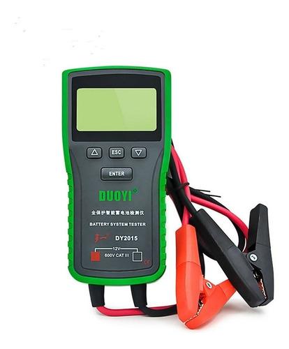 Analizador Y Probador De Baterias Digital Dy2015a