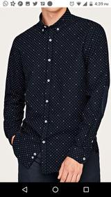 Camisa Zara Men No Tommy No Hollister Usada En Buen Estado