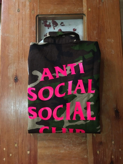 Camisa Fannel Anti Social Social Club Camo
