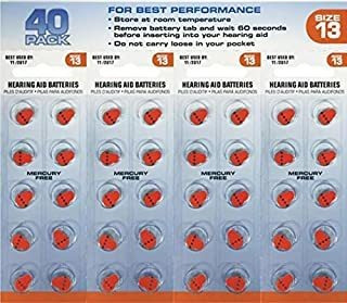 America Hears Size 13 Pilas Para Audífonos / Amplificadores
