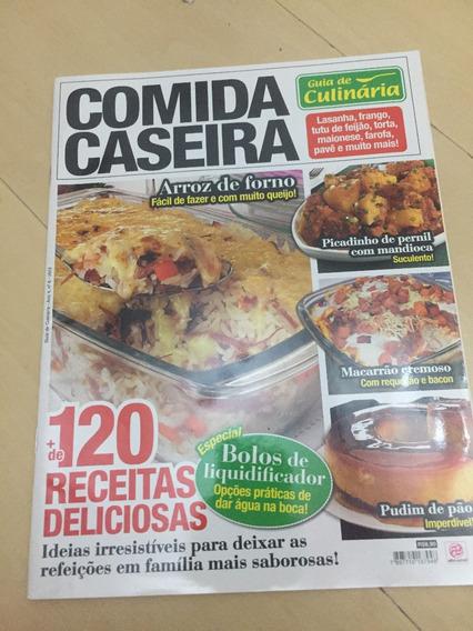 Revista Guia De Culinária 6 Receita Lasanha Feijão Pavê H515