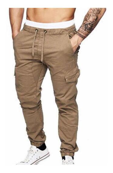 Pantalon Jogger Cargo Chupin Work Gabardina