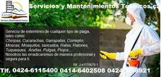 Fumigamos Contra Pulgas, Garrapata, Comején, Chiripas Y Mas.