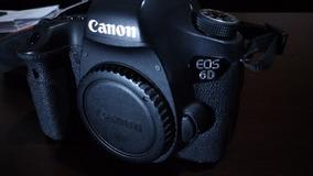Camera Canon 6d Somente Corpo