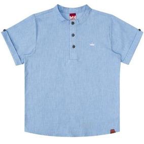 Camisa Infantil Masculina Bata Jeans Boca Grande Bg/g32047