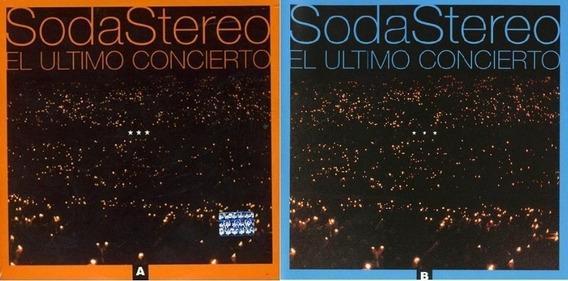 Lote 2 Cd Soda Stereo - Ultimo Concierto A Y B (sellados)