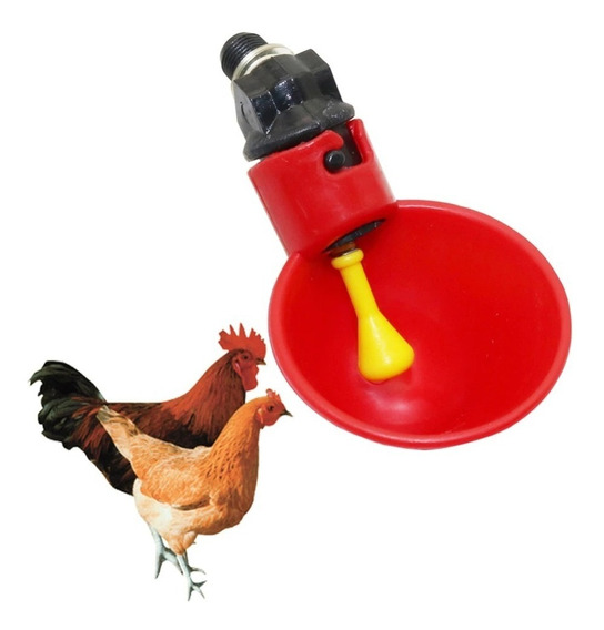 40 Bebedouro Automatico Copinho Para Aves,galinhas,codornas