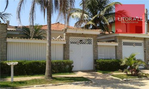 Imagem 1 de 20 de Casa Residencial À Venda, 3 Dorm (1 Suíte) Cibratel I, Itanhaém - Ca0286. - Ca0286