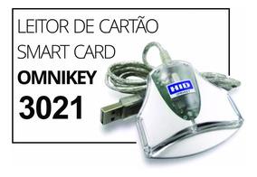 Leitor Omnikey 3021 Hid - Certificado Digital A3
