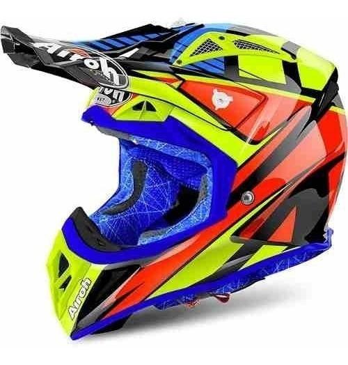 Capacete Airoh Motocross Aviator 2.2 Double Black