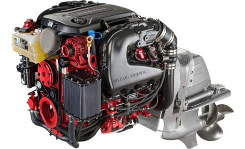 Motor Volvo Penta 5.3 V8 380hp + Rabeta Dps P/ Barco Lancha