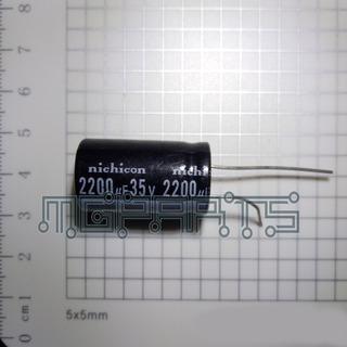 Condensador Capacitor Filtro Nichicon 2200uf 35v C8