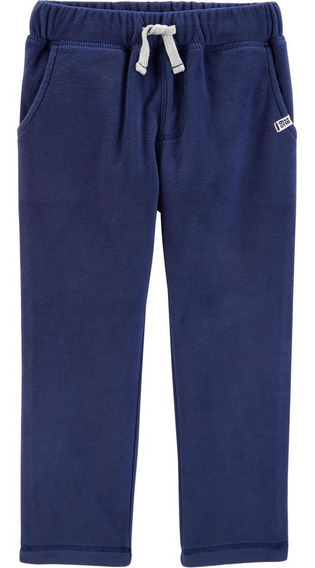 Carters Pantalón Polar Azul Nenes