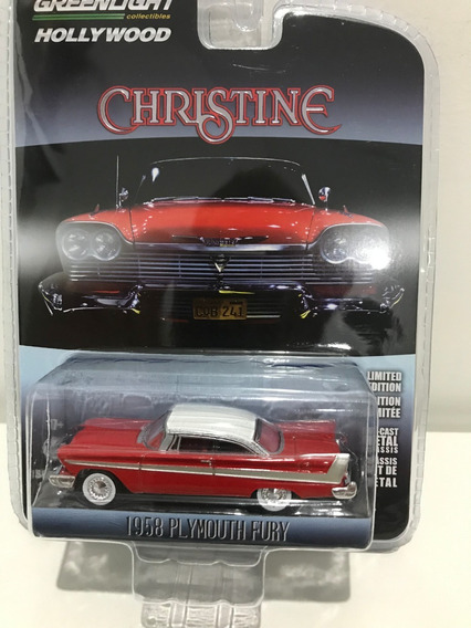 Greenlight Hollywood Christine Plymouth Fury Carro Assasino