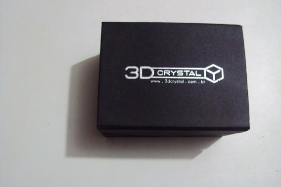 Estojo Porta Relógio Marca 3d Cristal P/colecionador Lindooo