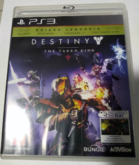 Destiny Ps3 Mídia Física