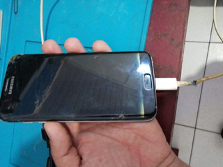 Celular Samsung S7 Edge Tela Quebrada