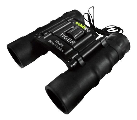 Binóculo Camping Echolife 10x25mm Foco Ajustável Bolsa Tiger
