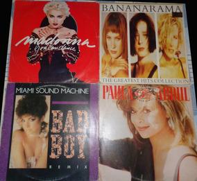 4 Lps Anos 80 - Cantoras Pop