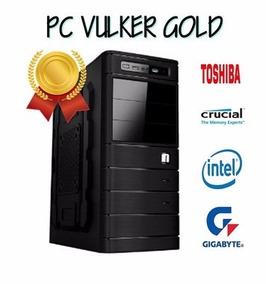 Computador Vulker Gold - Intel I3 8100 - 8gb De Ram Ddr4 -1t