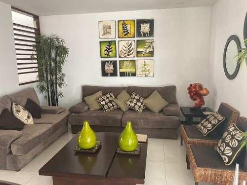 Casa En Renta En Privada Amueblada Cerca De Plaza Forum
