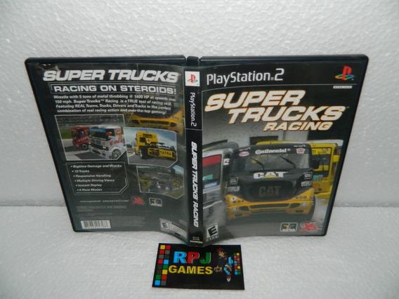 Super Trucks Racing Original Completa P/ Ps2 Playstation 2