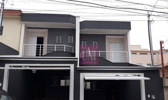 Sobrado Com 3 Dormitórios À Venda, 150 M² Por R$ 650.000 - Vila Francisco Matarazzo - Santo André/sp - So0595