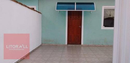 Imagem 1 de 21 de Casa Com 3 Dormitórios À Venda, 76 M² Por R$ 190.000,00 - Cibratel Ii - Itanhaém/sp - Ca1503