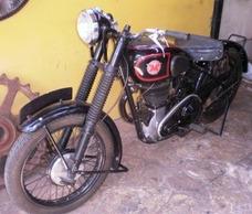Moto Antigua Inglesa Matchless 500 1946 Funcionando Ver!!!
