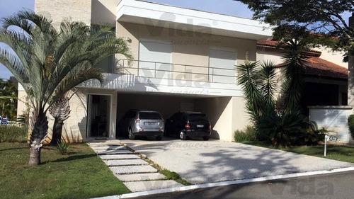 Casa Condomínio Sobrado  A Venda Em Alphaville  -  Santana De Parnaíba - 36247
