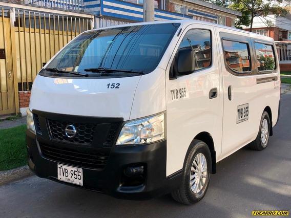 Nissan Urvan Nv350 2500cc Tdi Mt Aa Dh Fe