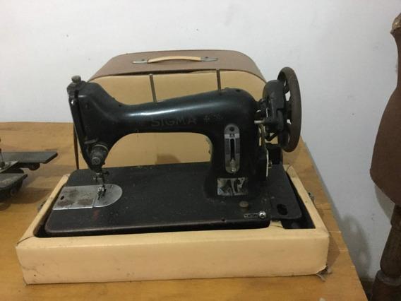 Maquina De Coser Sigma Muy Antigua -usada