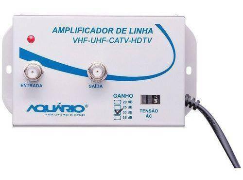 Amplificador De Linha Aquário 30db Al-30