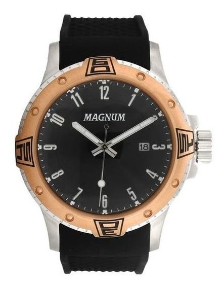 Relógio Magnum Ma34414p Dourado/preto Original