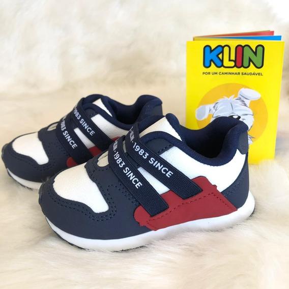 Tenis Com Elastico Menino Mini Walk Klin - 16493