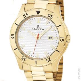 Relógio Champion Prateado Masculino Ca31337h Original +nf