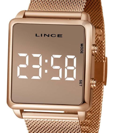 Relógio Feminino Lince Original C/ N. Fiscal Mdr4619l Bxrx