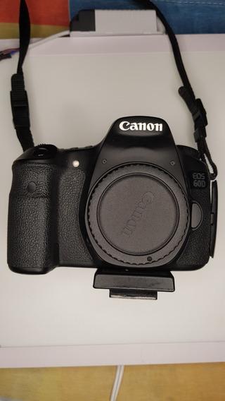 Câmera Canon Eos 60d - Usada 6,4k Clicks