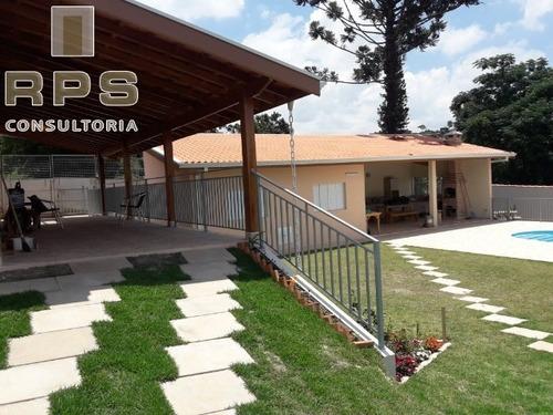 Imagem 1 de 25 de Chácara Para Venda Em Atibaia Jardim Estância Brasil - Atibaia - Ch00094 - 34829784